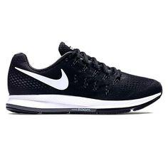 cdddd11d09bb4 Nike Women s Air Zoom Pegasus 33 OC Running Shoe Black Cool Grey Wolf Grey White  Legendary performance and premium technology combine to create Nike s ...
