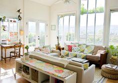 Santa Ynez eclectic living room