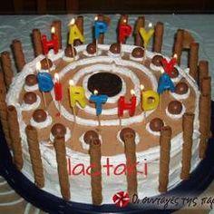 Τούρτα Cathrina συνταγή από Sitronella - Cookpad Birthday Cake, Desserts, Food, Tailgate Desserts, Birthday Cakes, Deserts, Eten, Postres, Dessert
