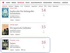 Layers steht in dieser Woche auf Rang 16 der Focus-Liste. Wir danken allen #Poznanski-Fans!