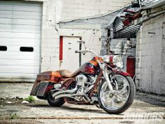 Burned-Out Bagger | 2008 Screamin' Eagle Road King - Baggers Magazine