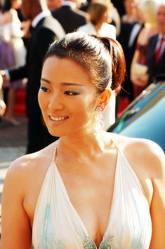 lovable Gong Li ...  Delectable Beauty...   She starred as Empress Phoenix in Curse of the Golden Flower (2006)