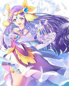 Pretty Cure, Pretty And Cute, Butterfly Poems, Mermaid Melody, Glitter Force, Galaxy Art, Diy Hair Accessories, Kawaii Anime Girl, Boku No Hero Academy