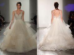Wedding gown by Lazaro.