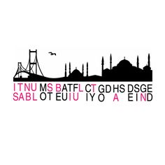 istanbul most beautiful city god has designed by kemal şanlı, via Behance