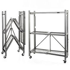 Product in addition Origami Shelving in addition 52H Folding Glass Towers With Chrome Finish Ships By Truck p 1410 in addition Luxury Design Practical Aluminum Shopping Trolley 574577357 additionally S Lightweight Aluminum Ladder. on easy s folding carts