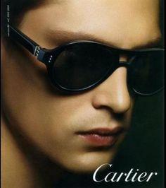 Cartier - Campagne de publicité lunettes automne-hiver 2012-2013 / DR