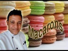 Receita de Macarons muito facil de fazer