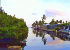 Matlacha, FL canal. We will be living 10 minutes away from this amazing village.