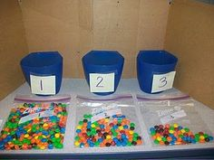 Voting Booth to estimate which bag has 100 M & Ms!