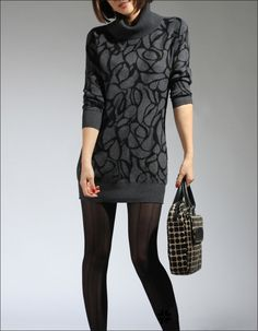 New Arrival Thicken Long Sleeve Sweater with High Neck - BuyTrends.com