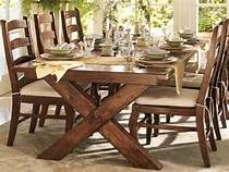 Build a stylish kitchen table with these free farmhouse table plans. They come in a variety of styles and sizes so you can build the perfect one for you. Farmhouse dining room table and Farm table plans. Farmhouse Dining Room Table, Dining Room Sets, Rustic Table, Table Design, Dining Room Design, Chair Design, Esstisch Design, Extendable Dining Table, Dining Tables
