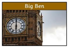 A set of 14 printables showing photographs of famous London landmarks. Great for discussions as well as for any class learning about London! Visit our TpT store for more information and for other classroom display resources by clicking on the provided links.