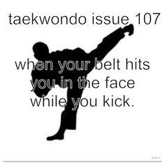 "Not Taekwondo, but I think my parents and siblings are pretty much tired of hearing the words ""at karate. Taekwondo Quotes, Karate Quotes, Martial Arts Humor, Martial Arts Quotes, Mma, Tang Soo Do, Karate Girl, Hapkido, Mixed Martial Arts"
