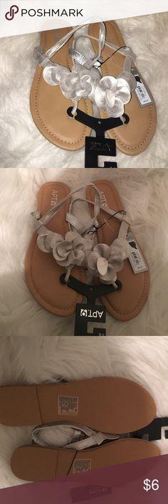 Apt 9 sandals Beautiful new apt 9 sandals. Size 7/8 Apt. 9 Shoes Sandals