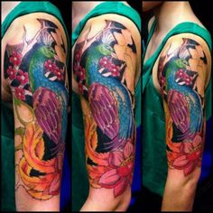 18 Sleeve Color Tattoo