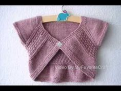 Entrechat Pattern - Knit Sweater Pattern Presentation - YouTube