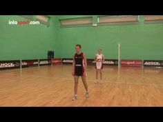 Netball Skills: Reaction Pass Drill - YouTube
