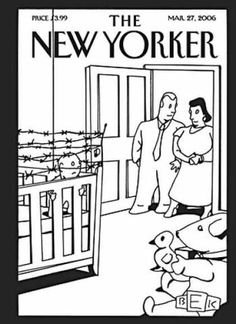 New Yorker Cover. Don't let this happen to you.