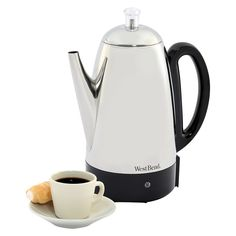 West Bend 12-cup Coffee Percolator, Silver