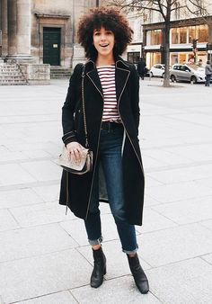 The Color Combo French It Girls Always Wear via @WhoWhatWear