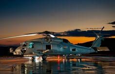 US Navy Sikorsky MH-60R Seahawk
