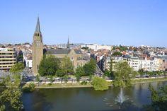 L'église Sainte-Croix à Flagey (Ixelles)  © Godelieve Schmaal
