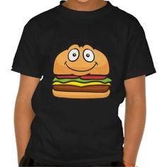 Hamburger Emoji Tees
