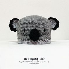 Koala Bear Beanie - $6.80 by Kittying Ying