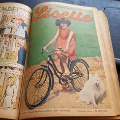 Gamle franske dameblade fra 1939.