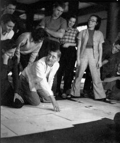 DeKooning in Eric Satie's play Ruse of Medusa featuring music by Cage, ...ALBERS TEACHING