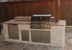 Outdoor Grill, Austin Stone