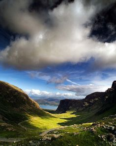 Bealach Na Ba, The Scottish Highlands.