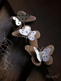 Papillons en craft