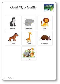 Flashcards Des Personnages De L Album Quot Brown Bear Brown
