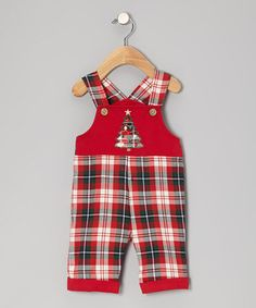 Nothing speaks to childhood innocence quite like classic overalls. Leg snaps and shoulder buttons ensure swift changes, while the quality cotton and festive front keep dapper dudes looking perfectly spiffy.