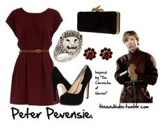 """""""Peter Pevensie inspired fashion"""" by erfquake ❤ liked on Polyvore featuring Dorothy Perkins, Chinese Laundry, Tarina Tarantino, Tina Tang, Diane Von Furstenberg, narnia, the chronicles of narnia and peter pevensie"""