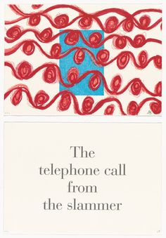 Louise Bourgeois (American, born France. 1911–2010) The Telephone Call from the Slammer, no. 1 of 9, from the series, What is the Shape of this Problem?