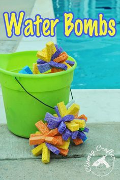 Homemade Water Bombs - Super fun and easy to make.