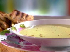 Cream of Asparagus Soup Recipe : Sunny Anderson : Food Network