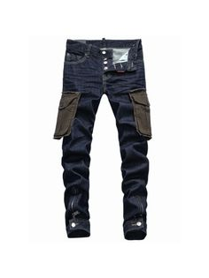 Dsquared2 Pocket Cargo Denim Pants is available in Dsquared Sale and Dsquared Outlet online store including dsquared2 sale,dsquared2 jeans sale. #dsquared2 #fashion #jeans #men #clothing #lifestyle #style #sale #outlet #shopping
