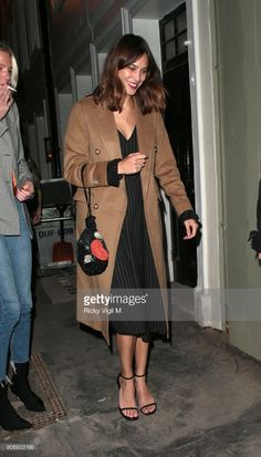 fe10c12ca1 Alexa Chung attends Soho House - VIP relaunch party on January 18