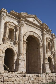 ✭ The ruins of the ancient city of Jerash - Jordan