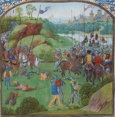 « Chroniques sire JEHAN FROISSART » Date d'édition :  1401-1500  Français 2645 Folio 244r
