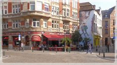 Bruxelles. Taverne Plattesteen.