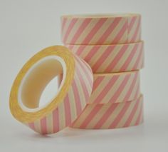 Pretty, not sure what I'd use it for.  Pink Airmail Washi Tape by Freckled Fawn - Two Peas in a Bucket