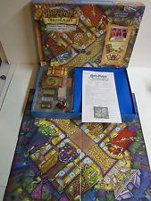 Harry Potter Diagon Alley Board Game 2001 Mattel complete ex