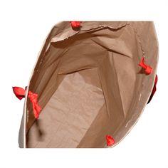 Papiertasche Zementsack Innenansicht