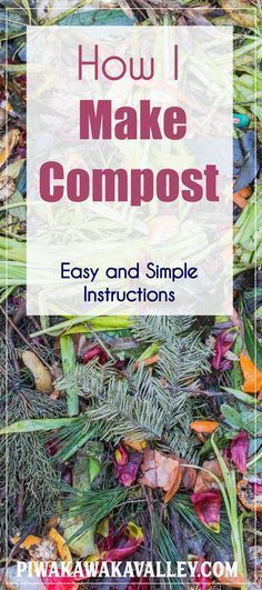 Composting doesn't have to be scary! Here are the simple directions for making a compost pile to fertilize your garden and reduce your waste. Vegetable gardening, Veggie gardens Farming farming, Farm date, Permaculture design, mulching, mulch, self sufficient, Potager garden Landscaping, Backyard ideas, Permaculture, Aquaponics, Balconies, Compost, get started, start vegetable garden, tips, skills, frugal, survivalism, homesteading ideas, simple living, self sufficient small farm hacks…