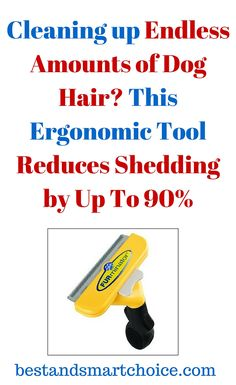Cleaning up endless amounts of dog hair is often seen as a fact of life for dog owners everywhere, especially if... continue reading by clicking here --> http://bestandsmartchoice.com/2015/09/cleaning-up-endless-amounts-of-dog-hair-this-ergonomic-tool-reduces-shedding-by-up-to-90/